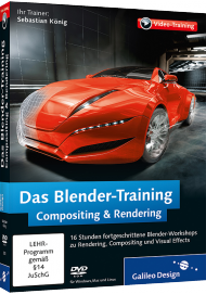 Das Blender-Training: Compositing & Rendering (Videotraining), Best.Nr. GP-2392, € 35,95