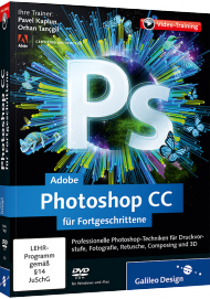 Adobe Photoshop CC für Fortgeschrittene (Videotraining), Best.Nr. GP-2433, € 35,95