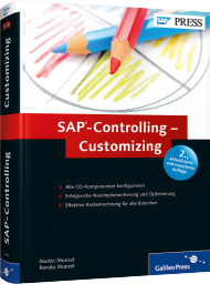 SAP-Controlling - Customizing, ISBN: 978-3-8362-2448-2, Best.Nr. GP-2448, erschienen 06/2013, € 69,90