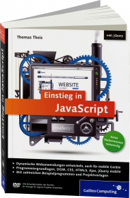 Einstieg in JavaScript, Best.Nr. GP-2587, € 24,90