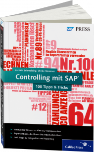 Controlling mit SAP - 100 Tipps & Tricks, Best.Nr. GP-2602, € 49,90