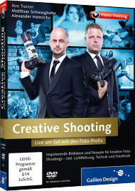 Creative Shooting (Videotraining), ISBN: 978-3-8362-2679-0, Best.Nr. GP-2679, erschienen 01/2014, € 44,95
