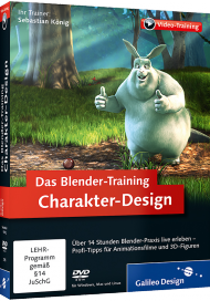 Das Blender-Training: Charakter-Design (Videotraining), Best.Nr. GP-2785, € 35,95