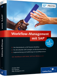 Workflow-Management mit SAP, ISBN: 978-3-8362-2931-9, Best.Nr. GP-2931, erschienen 01/2015, € 79,90