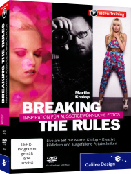 Breaking the Rules (Videotraining), ISBN: 978-3-8362-3019-3, Best.Nr. GP-3019, erschienen 10/2014, € 44,95