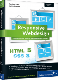 Responsive Webdesign, Best.Nr. GP-3200, € 39,90