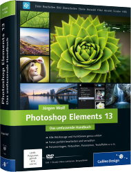 Photoshop Elements 13 - Das umfassende Handbuch, Best.Nr. GP-3443, € 39,90