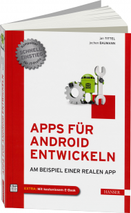 Apps f�r Android entwickeln, Best.Nr. HA-43191, € 24,99