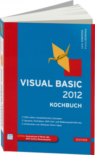 Visual Basic 2012 - Kochbuch, Best.Nr. HA-43430, € 39,99