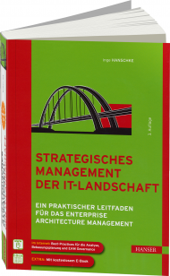Strategisches Management der IT-Landschaft, ISBN: 978-3-446-43509-4, Best.Nr. HA-43509, erschienen 05/2013, € 49,99