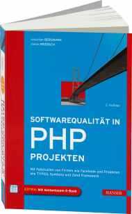 Softwarequalit�t in PHP-Projekten, Best.Nr. HA-43539, € 49,99