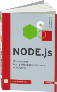 Node.js, ISBN: 978-3-446-43722-7, Best.Nr. HA-43722, erschienen 07/2015, € 34,99