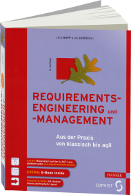 Requirements-Engineering und -Management, ISBN: 978-3-446-43893-4, Best.Nr. HA-43893, erschienen 10/2014, € 49,99