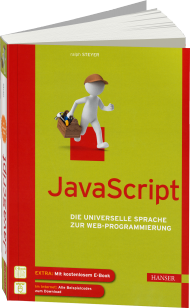 JavaScript, ISBN: 978-3-446-43942-9, Best.Nr. HA-43942, erschienen 04/2014, € 29,99