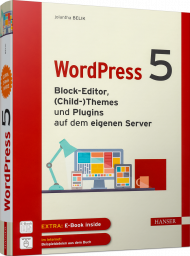 WordPress 5, ISBN: 978-3-446-43944-3, Best.Nr. HA-43944, erschienen 09/2020, € 34,99