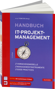 Handbuch IT-Projektmanagement, ISBN: 978-3-446-44074-6, Best.Nr. HA-44074, erschienen 07/2014, € 49,99
