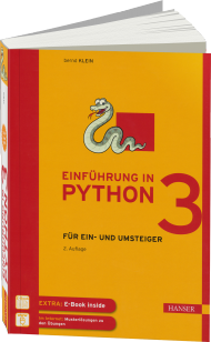 Einf�hrung in Python 3, Best.Nr. HA-44133, € 24,99