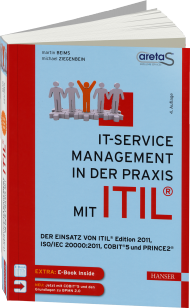 IT-Service Management in der Praxis mit ITIL, ISBN: 978-3-446-44137-8, Best.Nr. HA-44137, erschienen 01/2015, € 49,99