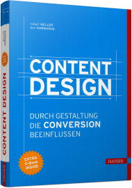 Content Design, ISBN: 978-3-446-44295-5, Best.Nr. HA-44295, erschienen 01/2018, € 39,00