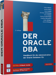 Der Oracle DBA, ISBN: 978-3-446-44344-0, Best.Nr. HA-44344, erschienen 07/2016, € 70,00