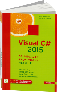 Visual C# 2015, Best.Nr. HA-44381, € 49,99