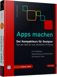 Apps machen, ISBN: 978-3-446-44574-1, Best.Nr. HA-44574, erschienen 06/2016, € 39,99