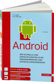 Android, ISBN: 978-3-446-44598-7, Best.Nr. HA-44598, erschienen 09/2016, € 26,00