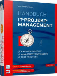 Handbuch IT-Projektmanagement, ISBN: 978-3-446-44602-1, Best.Nr. HA-44602, erschienen 07/2018, € 54,00