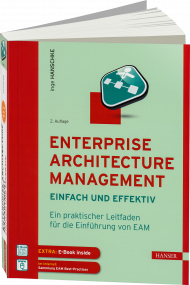 Enterprise Architecture Management - einfach und effektiv, ISBN: 978-3-446-44724-0, Best.Nr. HA-44724, erschienen 08/2016, € 42,00