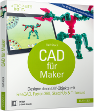 CAD für Maker, Best.Nr. HA-45020, € 30,00