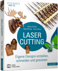 Lasercutting, ISBN: 978-3-446-45039-4, Best.Nr. HA-45039, erschienen 09/2017, € 30,00