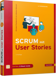 Scrum mit User Stories, ISBN: 978-3-446-45052-3, Best.Nr. HA-45052, erschienen 02/2017, € 32,00