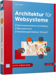 Architektur für Websysteme, ISBN: 978-3-446-45056-1, Best.Nr. HA-45056, erschienen 09/2017, € 40,00