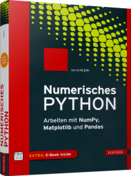 Numerisches Python, ISBN: 978-3-446-45076-9, Best.Nr. HA-45076, erschienen 06/2019, € 29,90