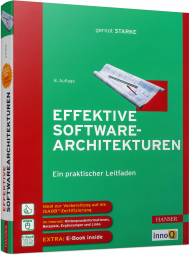 Effektive Softwarearchitekturen, ISBN: 978-3-446-45207-7, Best.Nr. HA-45207, erschienen 01/2018, € 48,00