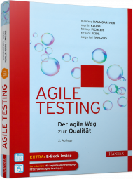 Agile Testing, ISBN: 978-3-446-45292-3, Best.Nr. HA-45292, erschienen 01/2018, € 42,00