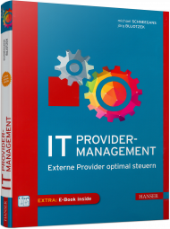 IT-Providermanagement, ISBN: 978-3-446-45332-6, Best.Nr. HA-45332, erschienen 01/2018, € 46,00