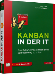 Kanban in der IT, ISBN: 978-3-446-45360-9, Best.Nr. HA-45360, erschienen 01/2018, € 36,00