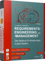 Requirements-Engineering und -Management, ISBN: 978-3-446-45587-0, Best.Nr. HA-45587, erschienen 01/2021, € 54,99