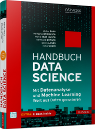 Handbuch Data Science, ISBN: 978-3-446-45710-2, Best.Nr. HA-45710, erschienen 06/2019, € 39,90