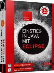 Einstieg in Java mit Eclipse, ISBN: 978-3-446-45910-6, Best.Nr. HA-45910, erschienen 10/2020, € 29,99
