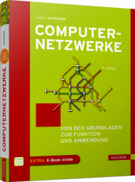 Computernetzwerke, ISBN: 978-3-446-46005-8, Best.Nr. HA-46005, erschienen 05/2019, € 24,90
