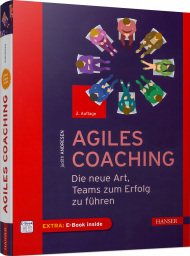 Agiles Coaching, ISBN: 978-3-446-46183-3, Best.Nr. HA-46183, erschienen 10/2019, € 34,99