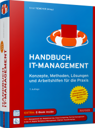 Handbuch IT-Management, ISBN: 978-3-446-46184-0, Best.Nr. HA-46184, erschienen 03/2020, € 69,99