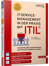 IT-Service Management in der Praxis mit ITIL, ISBN: 978-3-446-46186-4, Best.Nr. HA-46186, erschienen 01/2021, € 49,99