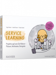 Service Learning, ISBN: 978-3-446-46351-6, Best.Nr. HA-46351, erschienen 10/2020, € 34,99