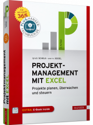 Projektmanagement mit Excel, ISBN: 978-3-446-46390-5, Best.Nr. HA-46390, erschienen 11/2020, € 39,99