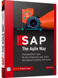SAP The Agile Way, ISBN: 978-3-446-46567-1, Best.Nr. HA-46567, erschienen 01/2021, € 39,99