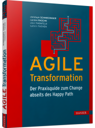 AGILE Transformation, ISBN: 978-3-446-46652-4, Best.Nr. HA-46652, erschienen 01/2021, € 29,99