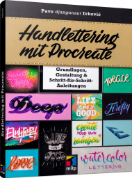 Handlettering mit Procreate, ISBN: 978-3-7475-0137-5, Best.Nr. ITP-0137, erschienen 11/2020, € 24,99